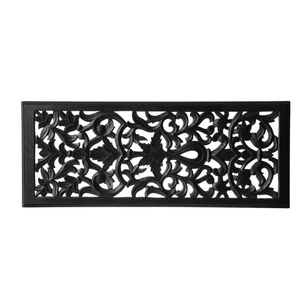 Tatini Wooden Carved Panel (India)
