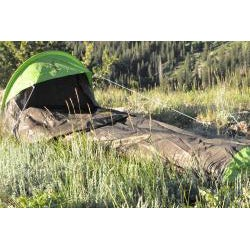 The Backside T-7 Black 1-person Bivy Camping Tent