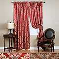 Damask 84-inch Rod Pocket Curtain