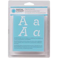 Martha Stewart Typewriter Alphabet Stencil Kit (48 Pack)