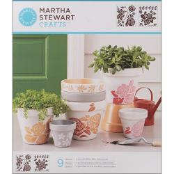 Martha Stewart Rose Garden Medium Stencils (Pack of 2)