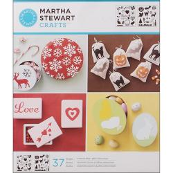 Martha Stewart Holiday Icons Medium Stencils (Pack of 2)