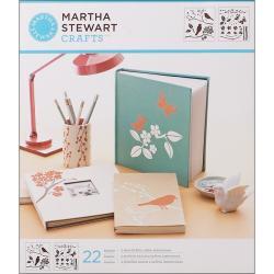 Martha Stewart Birds and Berries Medium Stencils (Pack of 2)