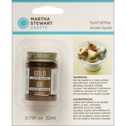 Martha Stewart Gold Liquid Gilding