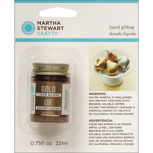 Martha Stewart Gold Liquid Gilding