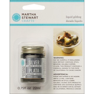 Martha Stewart Silver Liquid Gilding