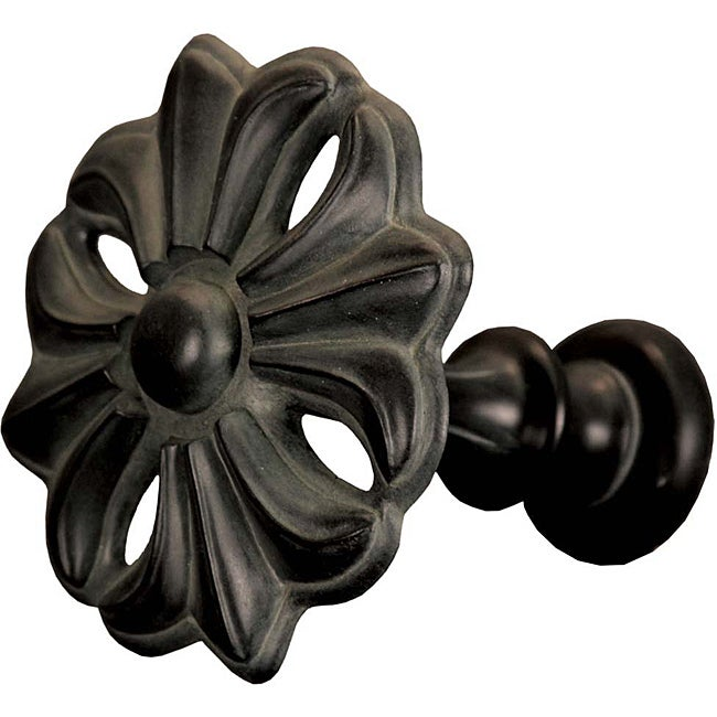 Menagerie Fleur Bell Noir Curtain Holdback