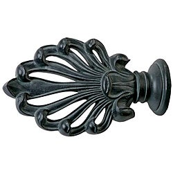 Menagerie Bella Noir Ludwig Curtain Finial