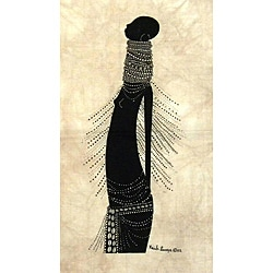 Heidi Lange 'Young Samburu Girl' Screen Print (Kenya)