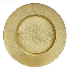 ChargeIt! by Jay 13-inch Gold Charger Plate