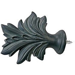 Menagerie Bella Noir Verdue Curtain Finial