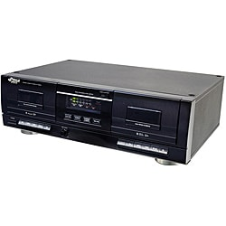 Pyle Dual Stereo Cassette Deck w/Tape USB to MP3 Converter (Refurbished)