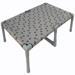 Go Pet Club 48-inch Paw Print Pet Cot