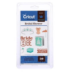 Cricut Events Bridal Shower Cartridge