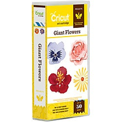 Cricut Projects Giant Flowers Cartridge