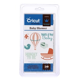 Cricut Events Baby Shower Cartridge