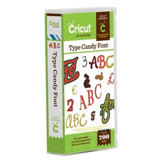 Cricut Type Candy Cartridge