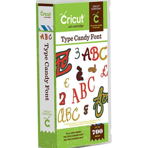 Cricut Type Candy Cartridge