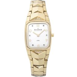 Skagen Women's Gold Crystal Watch
