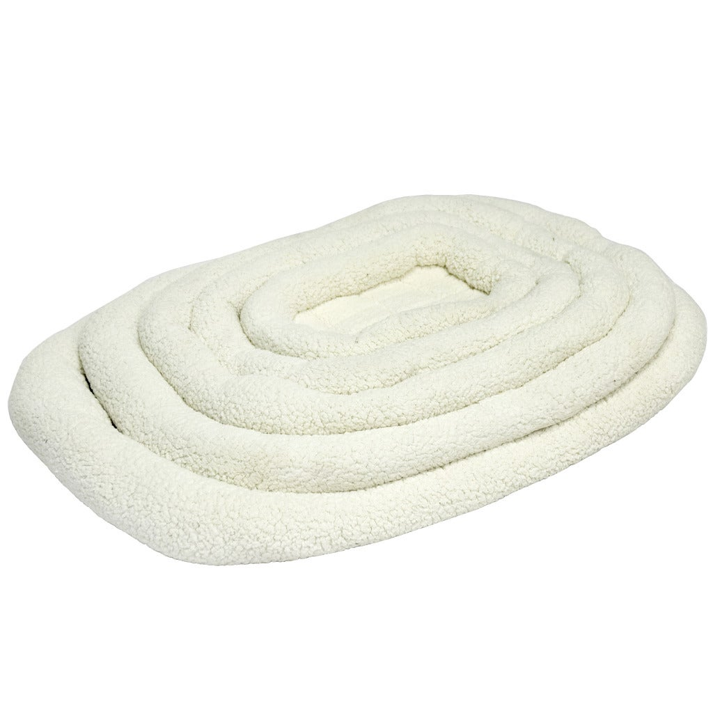 Cooper Dog Small Off-White Crate Pad