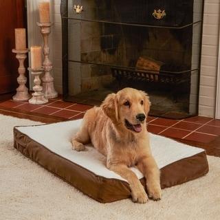 Ozzie Mocha Orthopedic Dog Bed