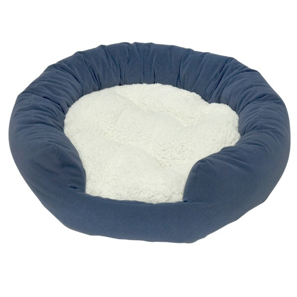 Moxy Slate Donut Dog Bed