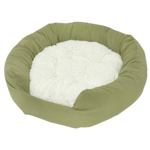 Moxy Sage Donut Dog Bed