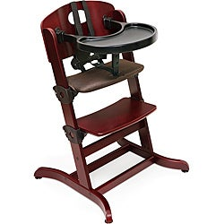 Badger Basket Evolve Cherry Convertible High Chair