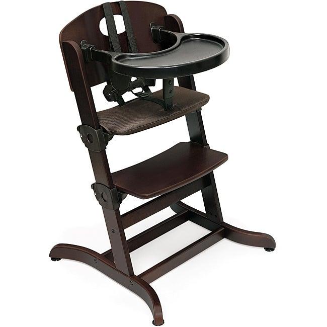 Badger Basket Evolve Espresso Convertible High Chair