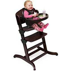Badger Basket Evolve Espresso Convertible High Chair