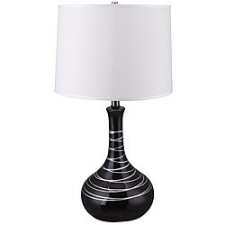 27-inch Retro Ceramic Table Lamp