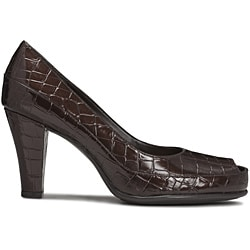 A2 by Aerosoles Women's 'Big Ben' Brown Pumps