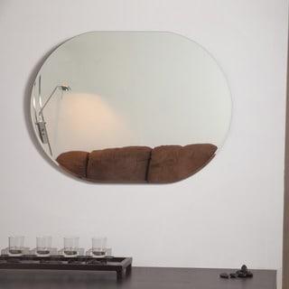 Khloe Modern Bathroom Mirror - Silver - 31.5Hx23.6Wx.5D