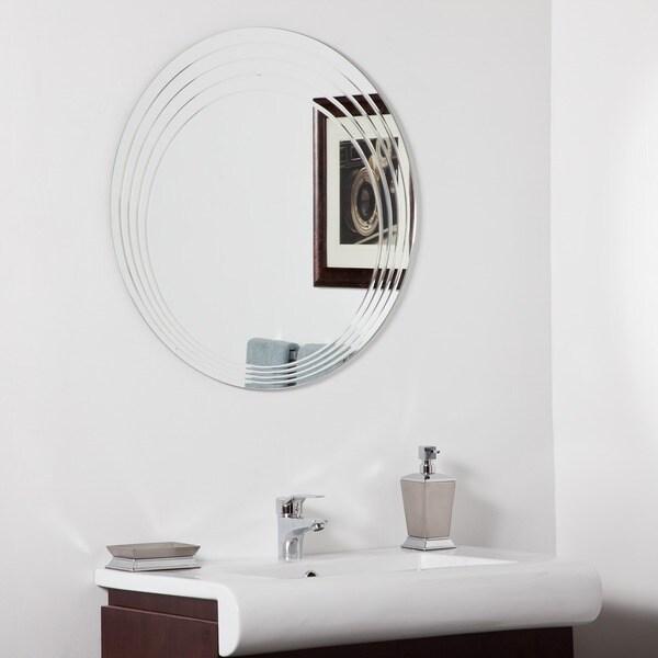 Bryn Modern Bathroom Mirror
