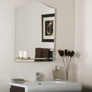 Abigail Modern Bathroom Mirror