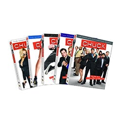 Chuck: Seasons 1-5 (DVD)