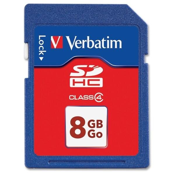 Verbatim 8GB SDHC Memory Card, Class 4