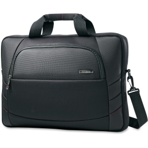 "Samsonite Xenon 2 Slim Laptop Briefcase for a 17.3"" screen- Black"