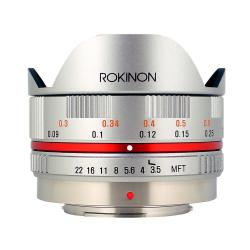 Rokinon FE75MFT-S 7.5mm F3.5 UMC Fisheye Lens for Micro Four Thirds
