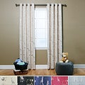 Animal Foil Print Blackout 84-inch Grommet Curtain (Set of 2)
