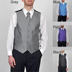 GianFranco Ruffini Men's Big & Tall 4-piece Vest Set