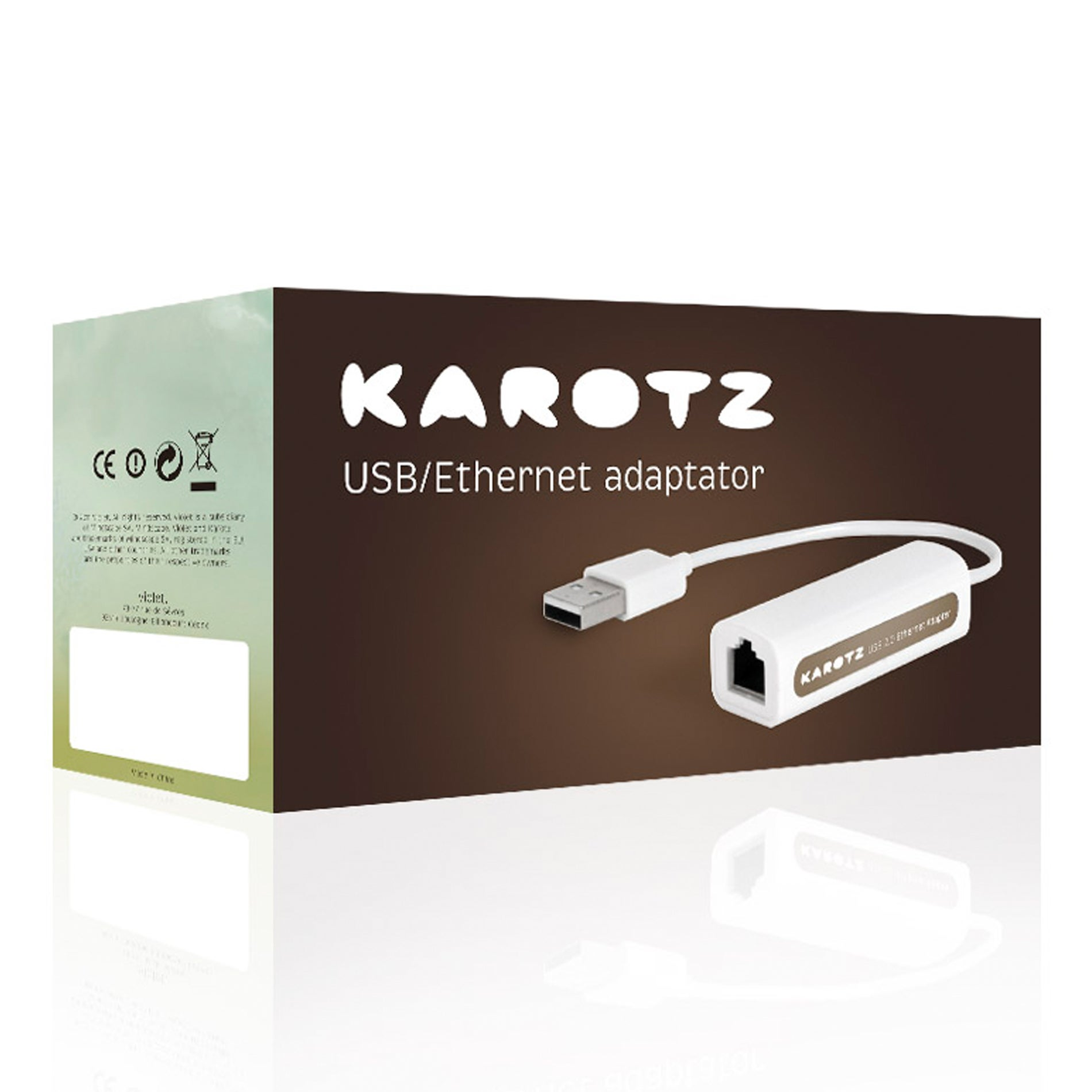 Dongle Karotz USB/Ethernet Five-foot Internet Adapter Cable