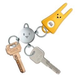 KAROTZ Key Ring and Four Flatnanoz