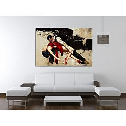 Maxwell Dickson 'The Dance' Modern Canvas Wall Art