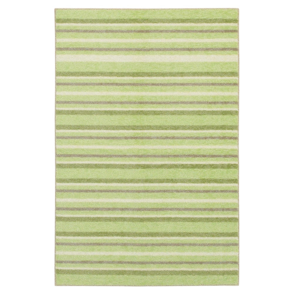 Cuddle Sage Green Kid's Rug (5' x 7')