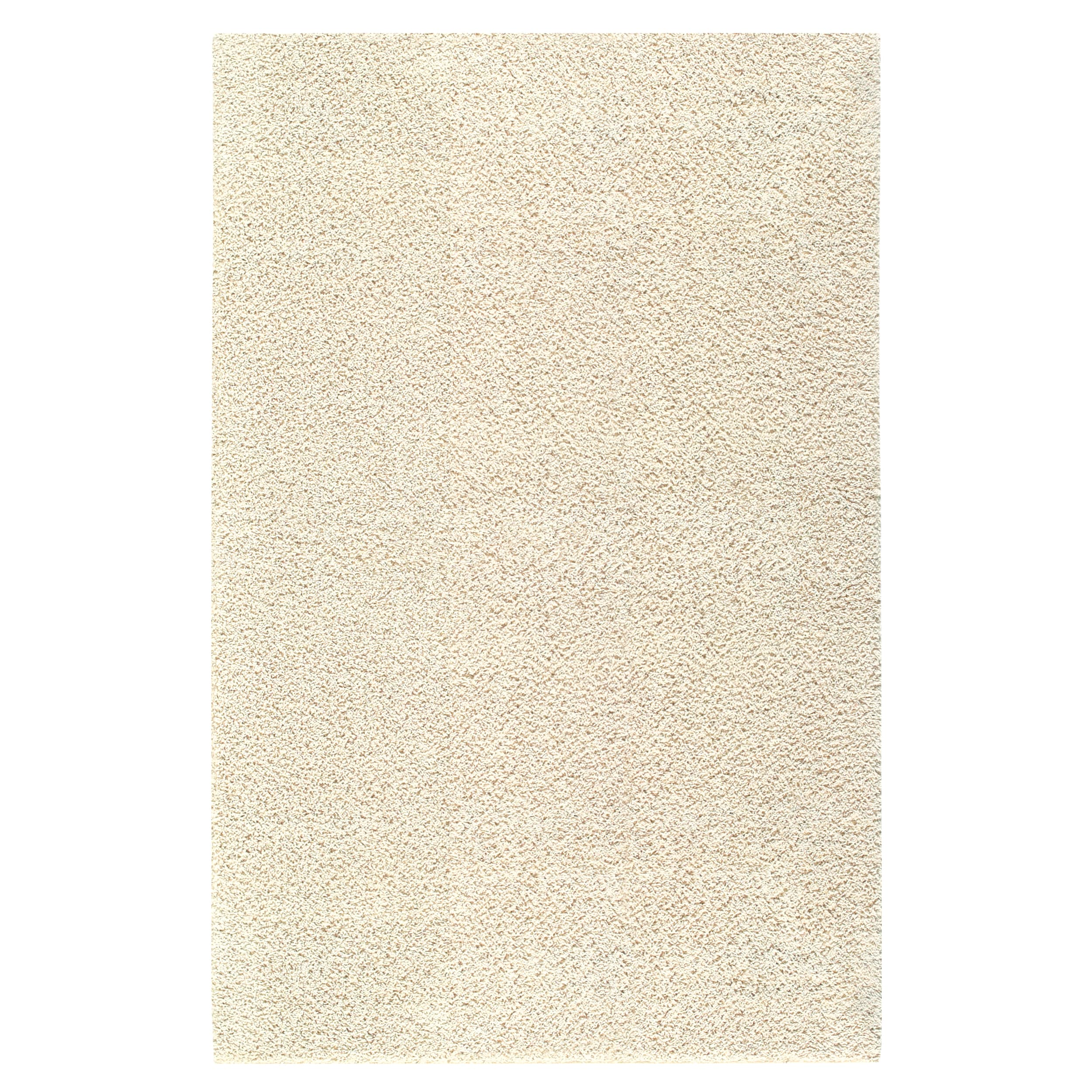 Solid Shag Starch Beige Rug (5' x 8') - 14112485 - Overstock.com Shopping - Great Deals on ...