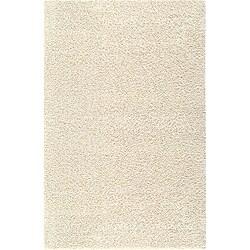 Solid Shag Starch Beige Rug (5' x 8')