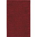 Solid Shag Crimson Red Rug (5' x 8')
