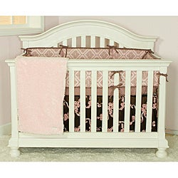 Cotton Tale Cupcake 4-piece Crib Bedding Set