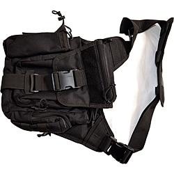 SecProUSA Ergo Tactical Black Nylon Bag with Adjustable Straps